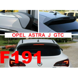 SPOILER OPEL ASTRA J GTC...